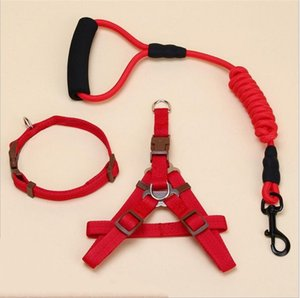Dog leash Traction Rope Pet harness for small and large dog Pull Adjustable Leash Vest Classic Running Training Collar and Harness 456 V2