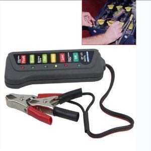 100pcs lot LED Handheld Storage car Battery Tester