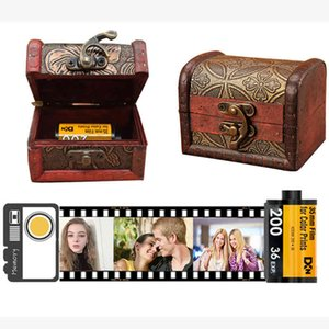10pcs Memory Film Album DIY Customization Photos Wedding Graduation Birthday Valentine's Day Creative Handmade Gifts Photo Album 210330