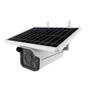 Cameras WiFi IP-камера Открытый солнечный 1080P Безопасность CCTV Полноцветный Ночное видение IP66 Водонепроницаемый 200 Вт HD 120D