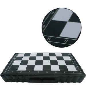 32 pcs mini xadrez conjunto dobrável plástico xadrez de tabuleiro de tabuleiro de tabuleiro em casa ao ar livre portátil garoto brinquedo Dropshipping 631 Z2