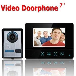 Inch TFT Touch Screen Color Video Door Phone CMOS Doorbell Camera Intercom System Phones