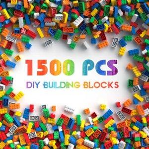 Building Blocks City DIY Creative Bricks Bulk Model Kids Assemble Toys Compatible All Brand Small SizeQJ0V