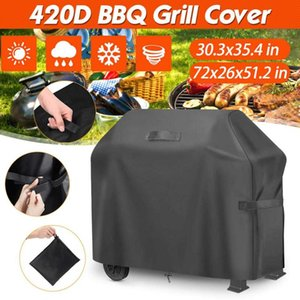 Tools & Accessories 210D BBQ Cover Outdoor Anti-Dust Waterproof Heavy Duty Grill Rain Protective Barbecue With Storage Bag And Handle