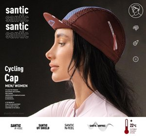 Santic Cycling Cap Hats Sports Outdoor MTB Road Bike Head Wear Free Size Clothing W0P059 Caps & Masks