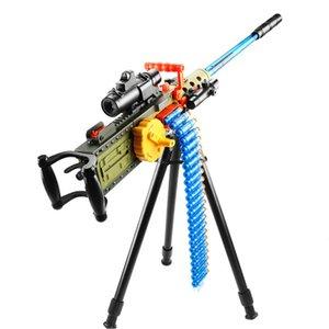 장난감 기계 총 부드러운 총알 전기 슈팅 다트 두 모드 재미 있은 아이 게임 어린이 생일 소년 선물