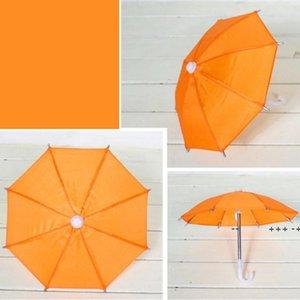 Doll Toy 8 K Mini Umbrella Candy Colors Dolls Cosplay Umbrellas Toys Accessories Decoration Home Decor Ornaments Rain Gear EWA8790