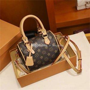 Luxurys Designers Bags 2021 Messenger Bag Women Totes Fashion Handbags Vintage Printing Shoulder BBags Classic Crossbody Handbag
