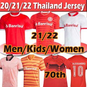 21 22 SC Internacional كرة القدم الفانيلة البرازيل الرياضة camisa gurrero t.galhardo d'alessandro الرجال النساء كيد مجموعات masculino feminino لكرة القدم قمصان 2021 2022