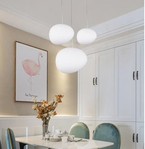 Pendant Lamps Nordic Living Room Lights Dining Personalized Glass Kitchen Hanging Light Decorations For Home