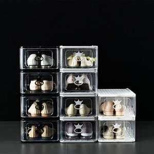Hochwertige Schuhkarton Big Size-Anti-Oxidations-Sammlungs-Display-Kabinett-Schubladenart AJ Turnschuhe
