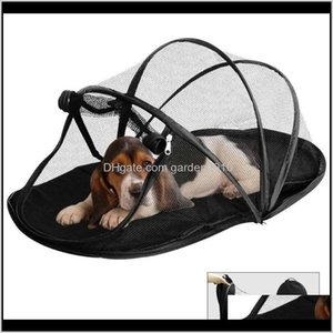 Houses Kennels Accessories Pet Fun House Cat Dog Playpen Feline Funhouse Portable Exercise Tent With Carry Bag M1Vek 8K0Yd