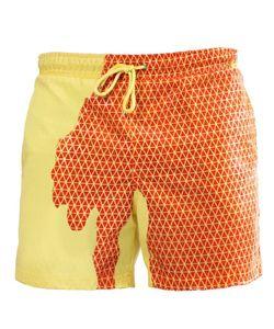 2020 new designer men's Water color beach shorts pants men's quick-drying plus size swim trunks multicolor swimwear Summer women panties