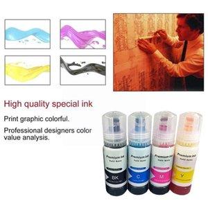 Ink Refill Kits 1 BottLe 70ML Dye 004 002 For L1110 L1118 L1119 L3100 L3101 L3106 L3108 L3109 Printer 2021 D1Z0