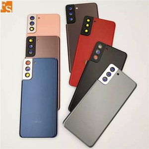 30PCS OEM Battery Door Back Housing Cover Glass Cover for Samsung Galaxy S21 Plus S21 Ultra with Adhesive Sticker free DHL