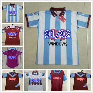 1995 1980 1999 2001 100th Vintage LAMPARD Retro Soccer Jersey 10 DI CANIO 28 BILIC DICKS COTTEE FERDINAND Football Shirt Kits