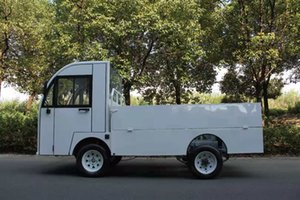 Electric flat transfer truck, two ton load