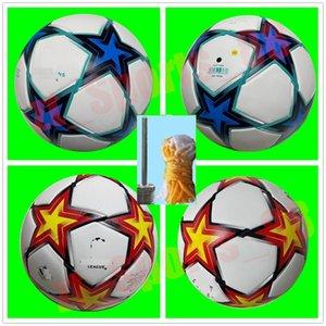 2021 2022 European champion Soccer ball 21 22 Final KYIV PU size 5 balls granules slip-resistant football
