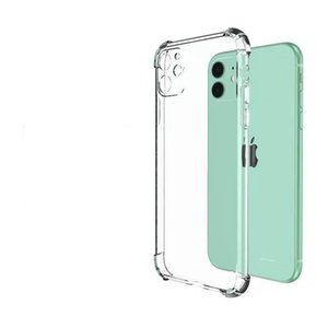 Mobile phone case TPU PC transparent back cover, suitable for Iphone 12 Mini 11 Pro Max X XS 7 8Plus