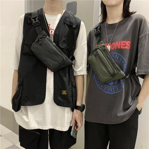 Travel Bum Bag Fanny Pack Waist Bags Zipped Outdoor Sports Shoulder Bag Mens Chest Pouch Couple Crossbody Pack Unisex