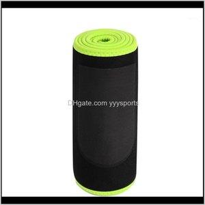 Support Women Men Black Abdominal Trainer Easy Wear Exercise Belt Waist Trimmer With Pocket Neoprene Workout Adjustable Sweat Wrap1 Cl 6D9Ro