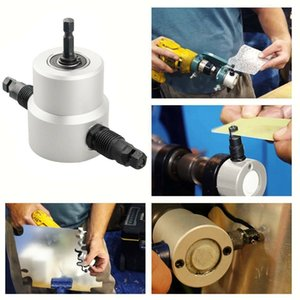 Double-head sheet metal cutter tool holder tool, electric drill, accessory kit