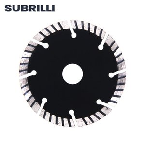 4 Diamond Turbo Saw Blade for Dry Cutting Cement 105MM Ripple Hot-Pressed Cutting Disc Wheel Plates Inner Hole 20mm