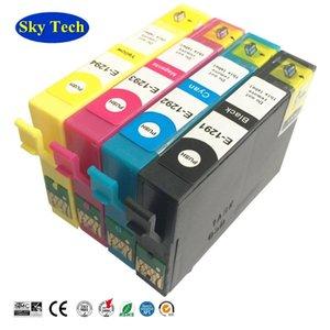 Ink Cartridges T1291 - T1294 ,T1295 Compatible With SX235W SX425W SX420W SX438W SX525WD SX535WD Printer