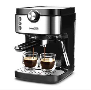 2022 Kuchen-Tools Espresso 20 bar Kaffeemaschine Schaummilch fruchter Zauberstab 1300w Hochleistung No-Lecking 900ml Abnehmbarer Wassertank Maker Cappuccino