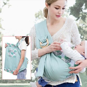 Carriers, Slings & Backpacks Nursing Cover For Infants Toddlers Soft Natural Wrap Breathable Cotton Kangaroo Bag Baby Ring Sling Carrier Bac