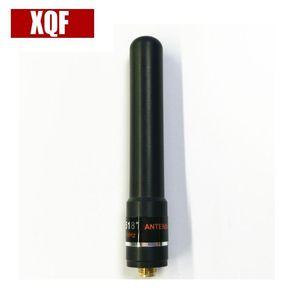 Walkie Talkie XQF HH-S518+ UV 145 435MHz High Gain Antenna SMA-F Short Hand For Baofeng UV-5R Two Way Radio