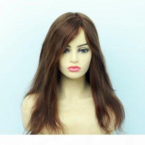 Peruca do cabelo humano do laço judaico do Kosher Europeu Com Peruca curta do laço do cabelo do cabelo do bebê para as mulheres Mais estilos