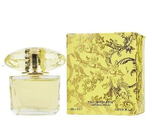 Woman Perfume for Women Yellow Bottle 90ml Natural Spray Floral Notes High Quality EDT Lasting Flavor and Free Delivery