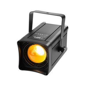 Par Can Lights,COB 100W Warm White LEDs, CRI 87 Metal Body, Large Cover Range Stage Lights