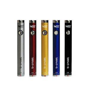 100% Original Yocan B-Smart Battery 320mah slim Twist Preheat VV Bottom Adjustable Voltage 510 Vape Pen BoGo Ugo V3