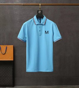 Mens designer t shirts Clothing polo shirt pure cotton Luxury Crew neck Short Coats Suitable Latest Style for summer clothM-3XL