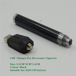 CE3 O-Pen Battery Wireless USB Charger Electronic Cigarettes Adapter for eGo 510 Thread Bud Touch Batteries Vape Pen black