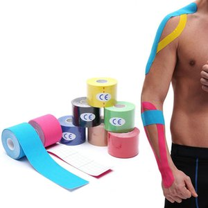 Kinesiology Tape Muscle Bandage Sports Cotton Adhesive Strain Injury Knee Pain Relief Elastoplast For Finger Ankle Palm Shoulder