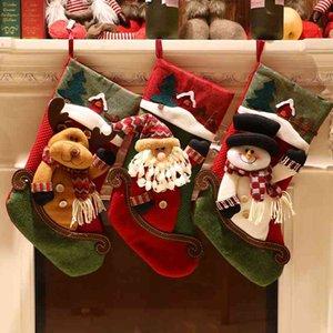 Ornament Gift kindergarten children's gift Candy Bag elderly large socks Tree Pendant household