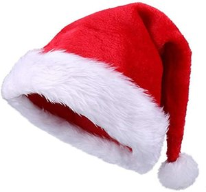 Christmas Hat For Adults Children Santa Claus Ornaments Hats Party Cap Xmas Props Decoration Wide Brim