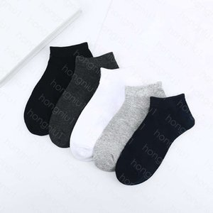 mens socks Wholesale average size Middle italy style Letter Breathable Cotton casual Sock Random color