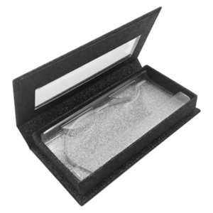 Transparent Paper Lines Eyelash Case Mounting Box False Eyelashes Boxes Bottom Tray Cosmetic Packaging Muti Color Oblong 3 7ql C2 1PJD XFHY