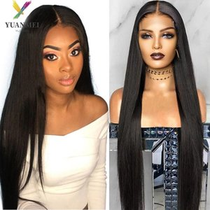 Lace Wigs Long Straight Front Human Hair 30Inches 4x4 Closure Wig Brazilian Remy For Women Wholesale
