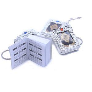 Арабский Коран маленький кулон брелок религиозные ювелирные изделия Мини Коран брелок кулон подвесной кольцо
