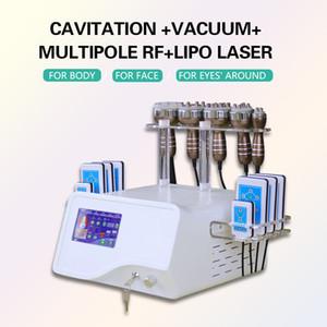 منتجات التجميل المحمولة 5 في 1 40K التجويف متعدد الوظائف التخسيس RF Lipolaser جهاز إعادة تجديد البشرة بالموجات فوق الصوتية
