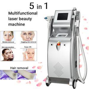 High power ipl opt laser machinr shr Rapid Hair Removal wrinke reduction ND yag lazer pigmentation tattoo treatment