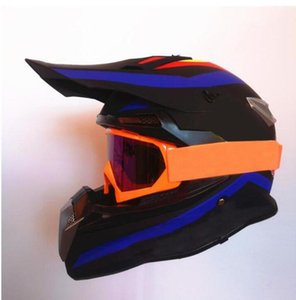 Мотокросс Шлем Даунхилл Мотоцикл Full Place Healmets Профессиональная гоночная защитная езда Оборудование