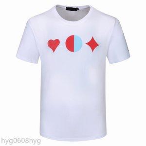 2021SS Mens Stylist T-shirt Hip Hop Männer Hohe Qualität Druck Tees Frauen Sommer Kurzarm T-Stück 8 Arten Ovo