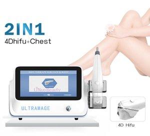 4D HIFU 12 Satır 8 Kartuşlar Vücut Zayıflama Anti Kırışıklık Yüz Germe Cilt Sıkılaştırma Güzellik Ekipmanları