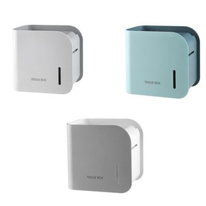 Tissue Boxes & Napkins Toilet Paper Holder Towel Dispenser Wall Bathroom Stand Shelf Basket Accessories